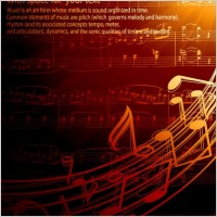 Link toGorgeous classical music background 02 vector