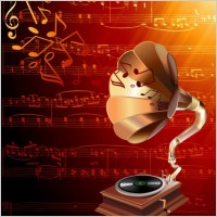 Link toGorgeous classical music background 03 vector