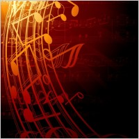 Link toGorgeous classical music background 04 vector