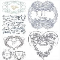 Link toGorgeous classical pattern vector