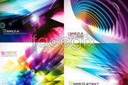 Link toGorgeous color and dynamic background vector
