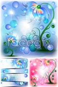 Link toGorgeous color fairy flower vector