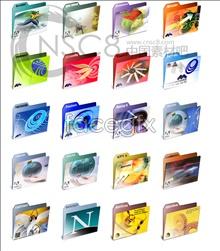 Link toGorgeous color pattern folder