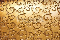 Link toGorgeous european-style golden pattern hd pictures