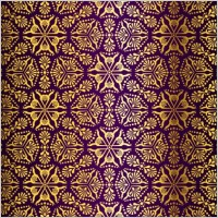 Link toGorgeous fabric pattern background vector 4