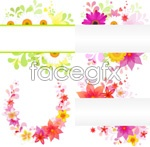 Link toGorgeous flowers flowers vector