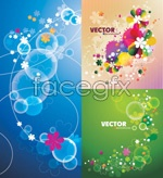 Link toGorgeous flowers shade vector