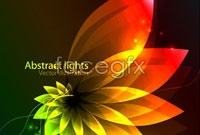 Link toGorgeous glow leaves background vector c