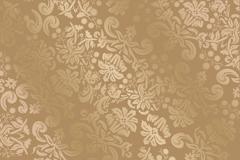 Link toGorgeous gold-patterned silk background vector
