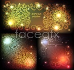 Link toGorgeous light effect pattern background vector