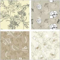 Link toGorgeous line of draft pattern vector