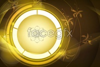 Link toGorgeous line ring vector background