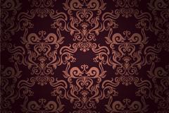 Link toGorgeous pattern background design vector