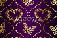 Link toGorgeous purple cloth pattern vector background 5
