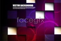 Link toGorgeous purple mosaic background vector map