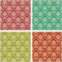 Link toGorgeous shading pattern 02 vector