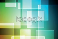 Link toGorgeous square technology background vector