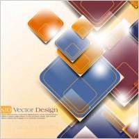 Link toGorgeous threedimensional dynamic background 03 vector