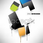 Link toGorgeous trend background 03 vector