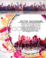Link toGorgeous urban background vector
