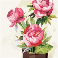 Link toGouache flowers 01 vector