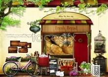 Link toGourmet bread psd free