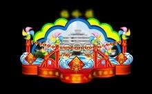 design psd lantern festival lantern Government's