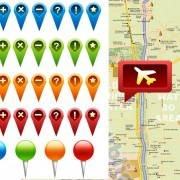 Link toGps icons psd graphic