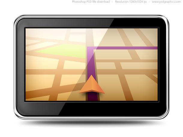 Link toGps navigation (psd)