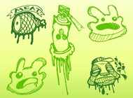 Link toGraffiti doodles vector free