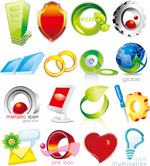 Link toGraphics icons vector