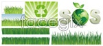 Link toGrass earth vector
