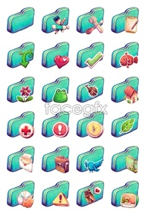 Link toGrass green folder icon