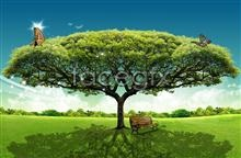 Link toGrass tree wood butterflies chair psd