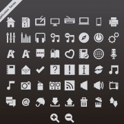 Link toGray application series vector icons free