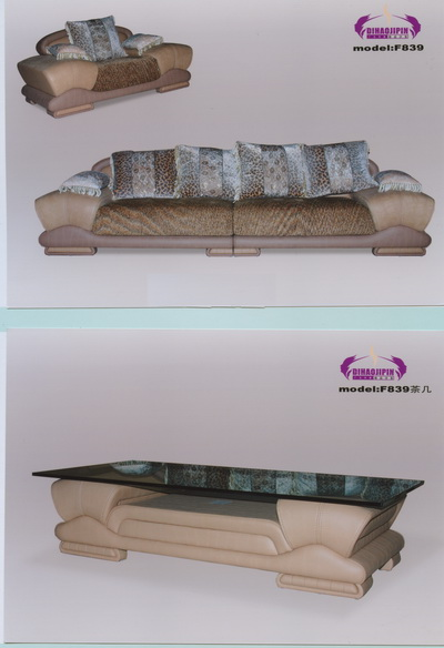 Link toGray sofa and coffee table 3d model of business