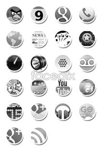 Link toGray tones mobile icons
