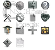 icons series tones Gray