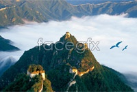 Link toGreat wall top view high definition pictures
