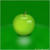 Link toGreen apple layered psd source files