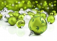 Link toGreen ball christmas decoration pictures download