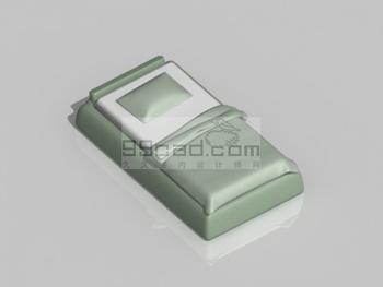 Link toGreen bed 3d model