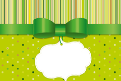 Link toGreen bows background vector