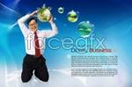 Link toGreen business psd