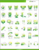 Link toGreen cute icons