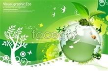 Link toGreen earth spring poster design psd
