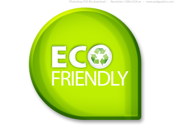 Link toGreen eco friendly sign (psd)