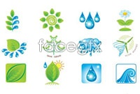 Link toGreen eco icon vector