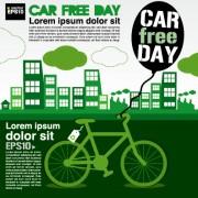 Link toGreen ecology city concept design vector 01 free