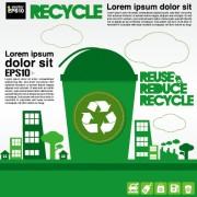 Link toGreen ecology city concept design vector 03 free